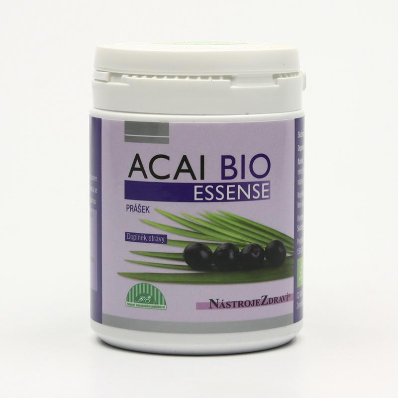Nástroje Zdraví Acai bio, prášek 80 g