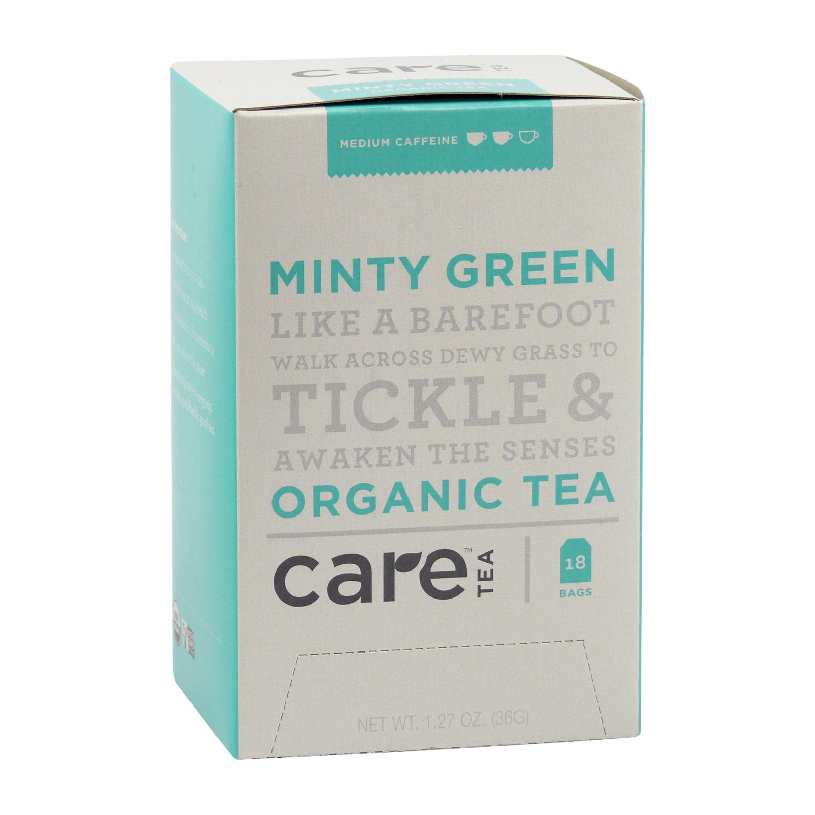 Care Tea Zelený čaj Minty Green 18 ks, 36 g