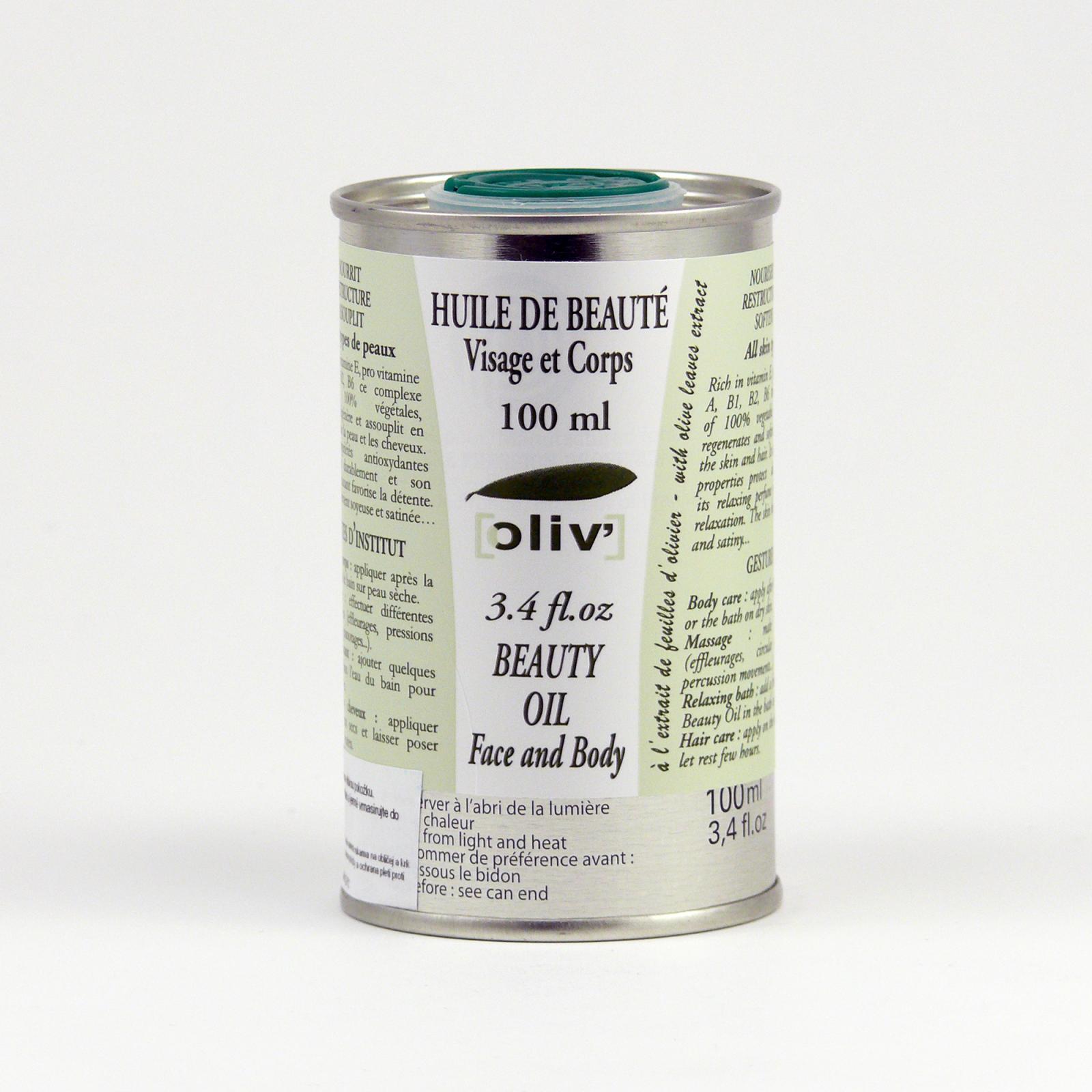 La Clarée Obličejový a tělový olej relaxační, oliv' 100 ml