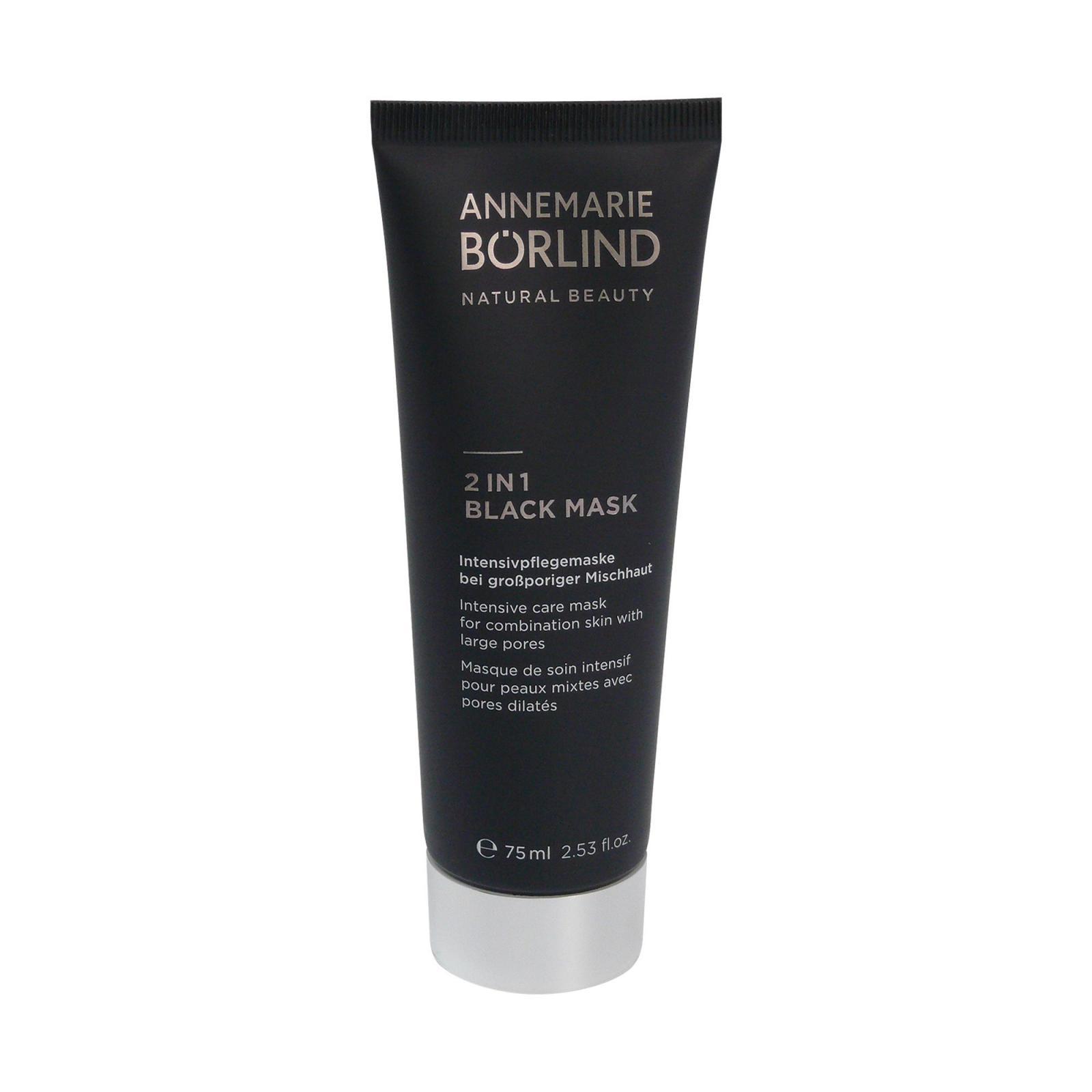 Annemarie Börlind Černá maska 2 v 1 75 ml