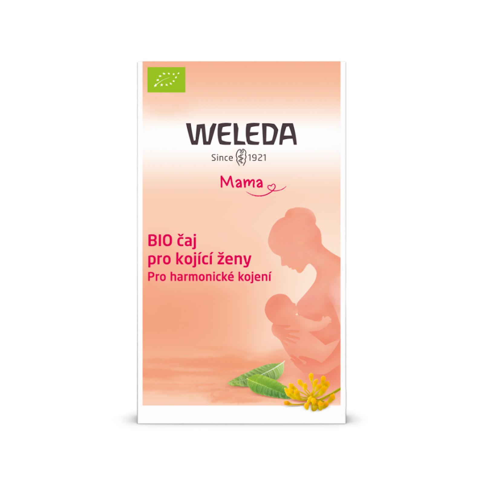 Weleda Čaj pro kojící ženy, bio 20 ks, 40 g