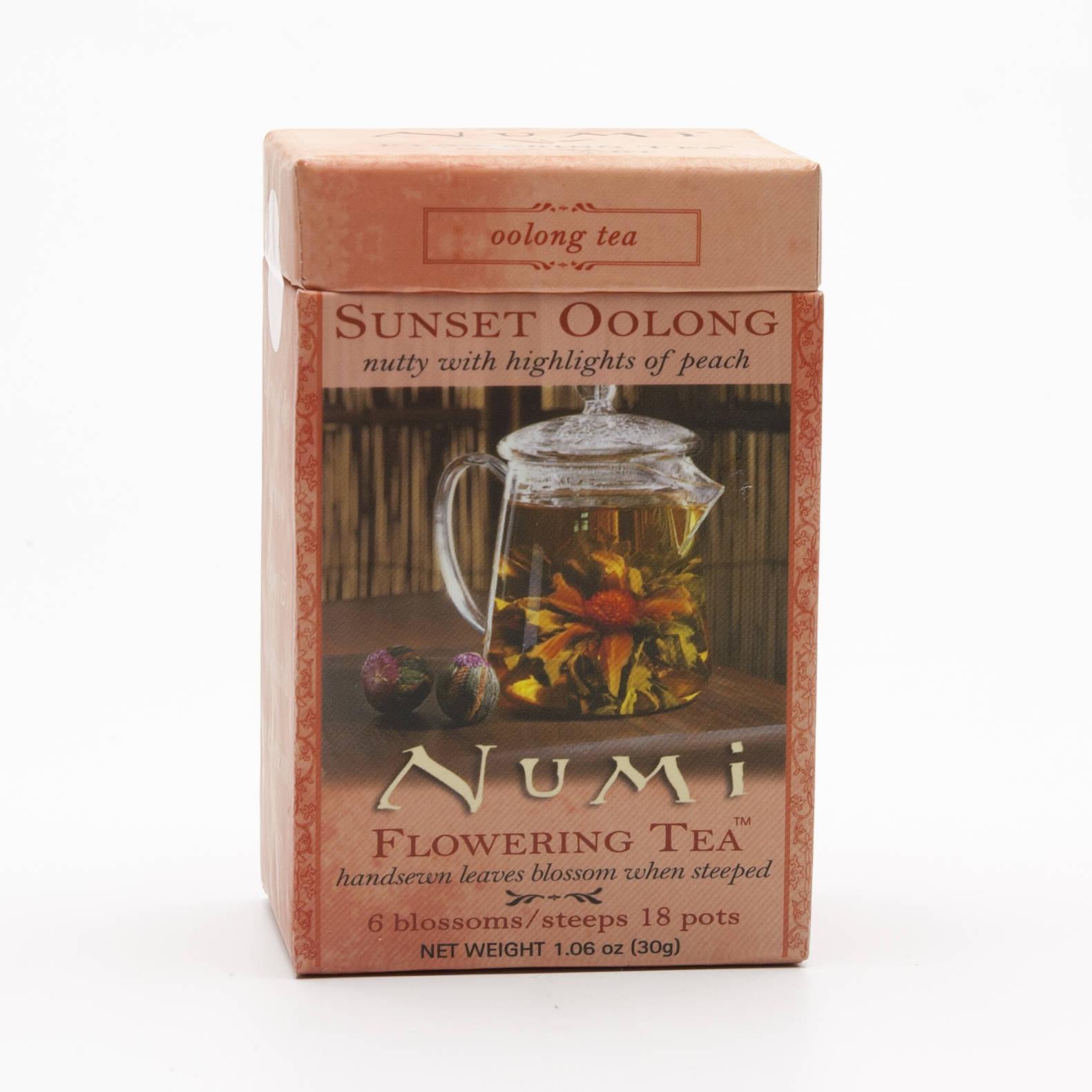 Numi Kvetoucí čaj Sunset Oolong 6 ks