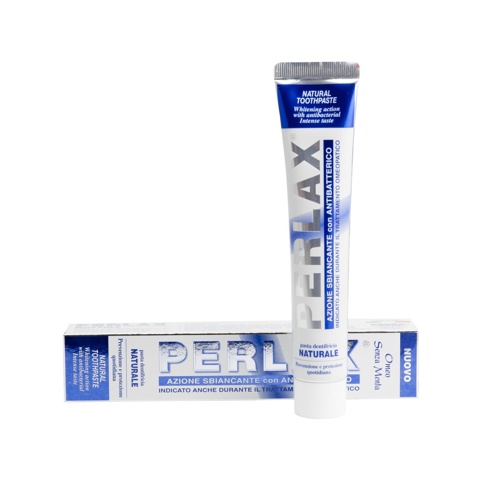 PERLAX Bělící zubní pasta Mint Free, Profi Line 75 ml