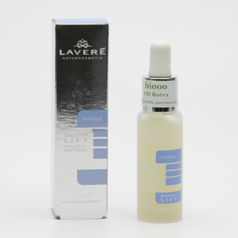 Laveré x Hydratační gel Hydro Energy Lift, systém Hydro  25 ml