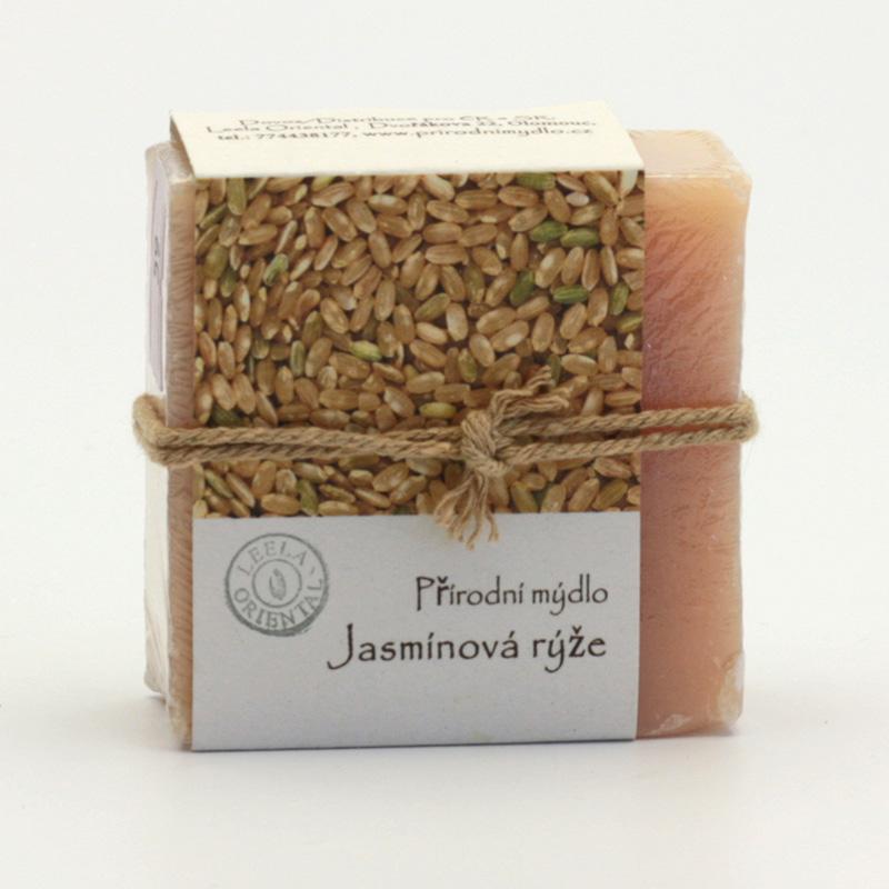 Přírodní mýdlo Mýdlo jasmínová rýže 80 g