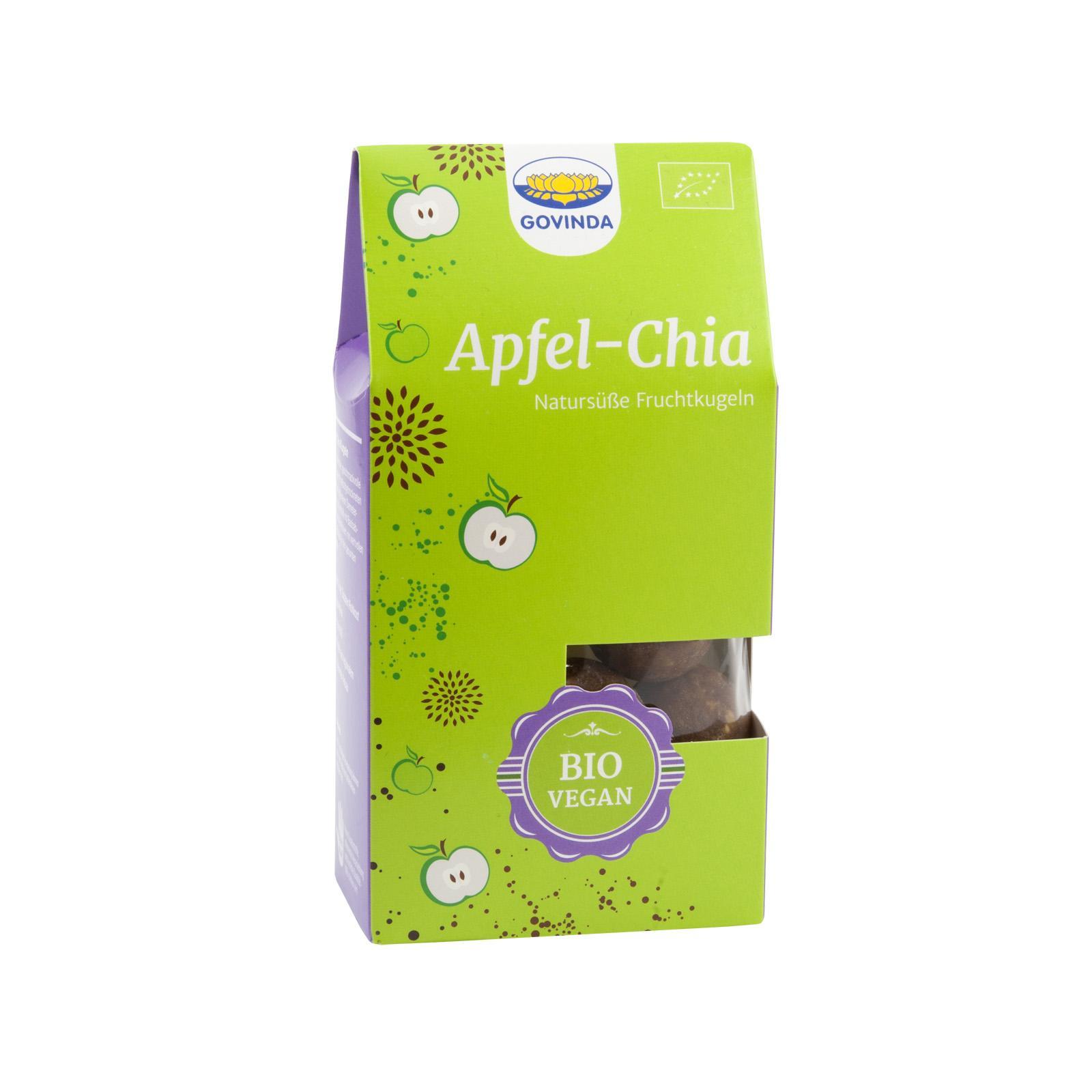 Govinda Datlovo-jablečné cukroví s chia semínky 120 g