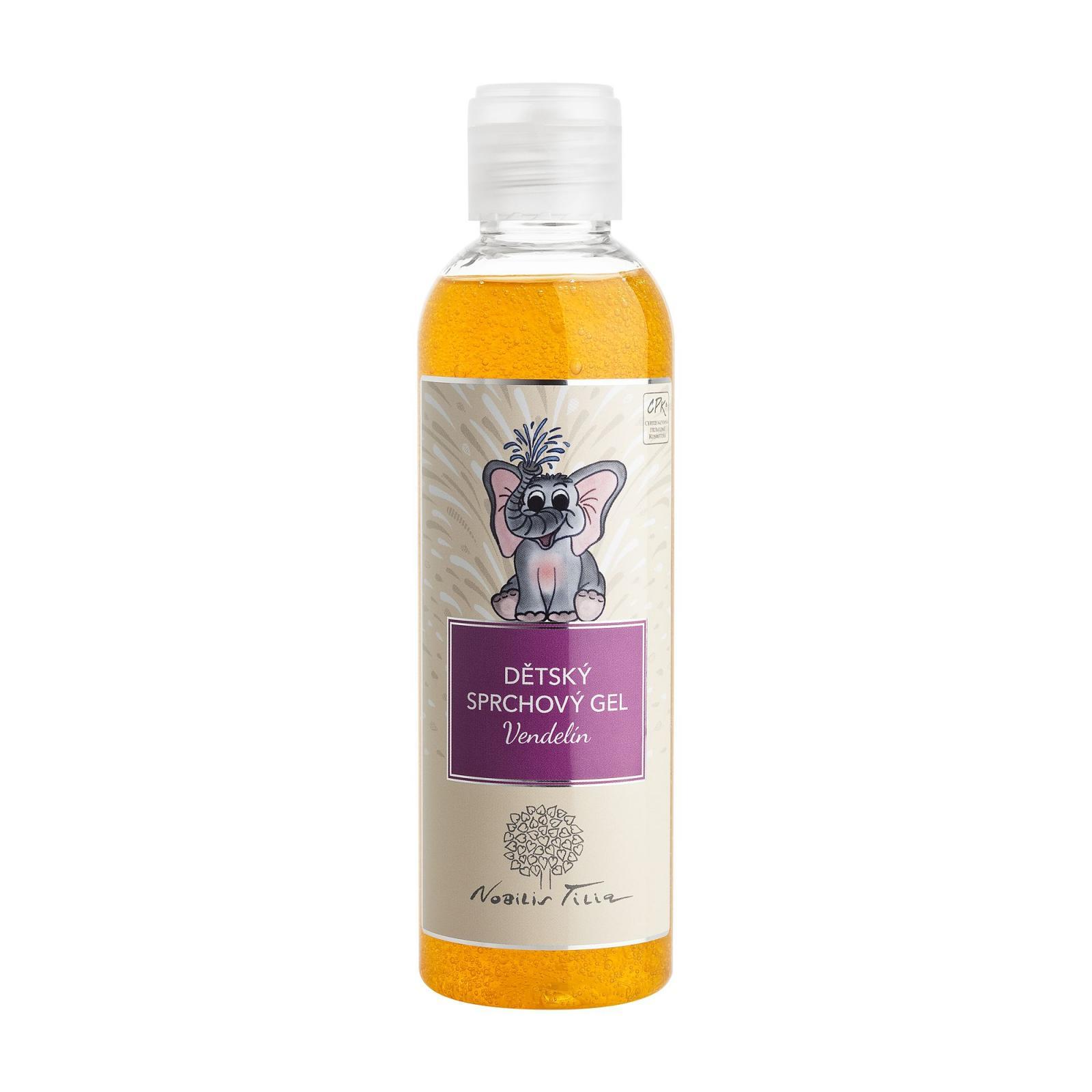 Nobilis Tilia Dětský sprchový gel Vendelín 200 ml