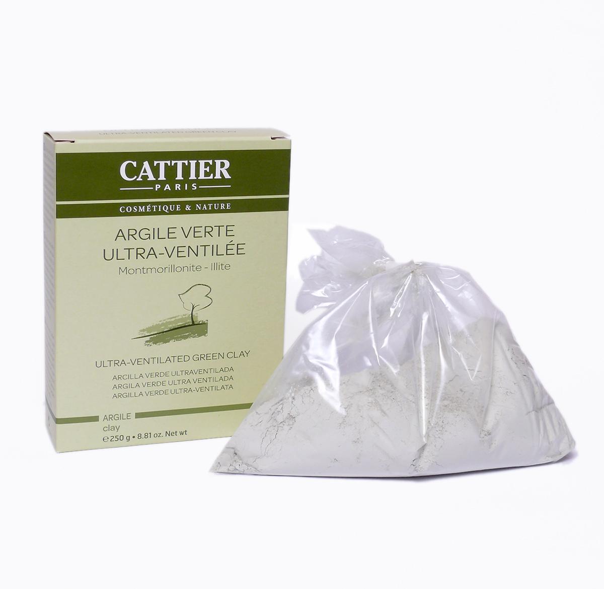 Cattier Zelený jíl jemný přírodní 250 g