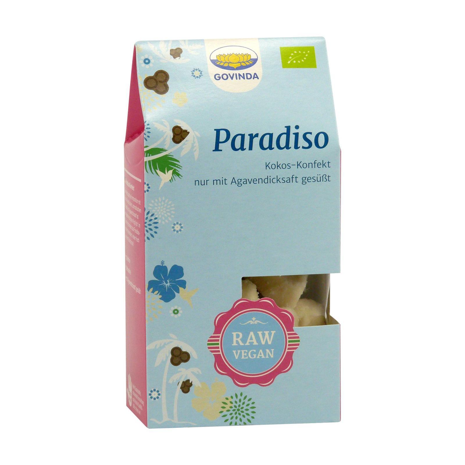 Govinda Kokosové raw cukroví Paradiso 100 g