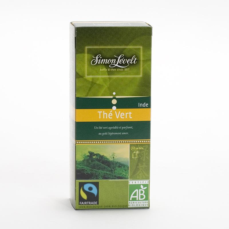 Simon Levelt Green tea, Indie 22 ks, 38,5 g