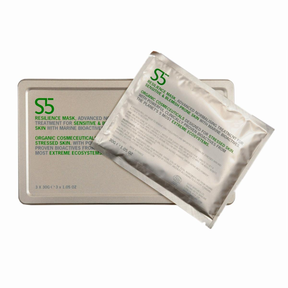 S5 Čistící a zklidňující maska 30 ml