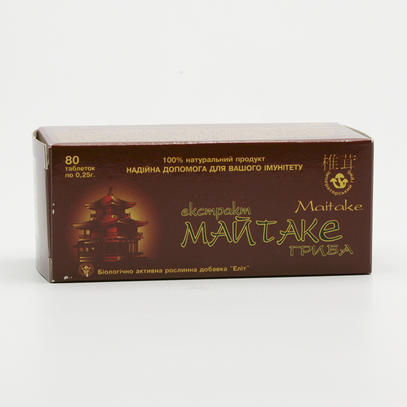 ostatní Maitake, extrakt 80 tablet