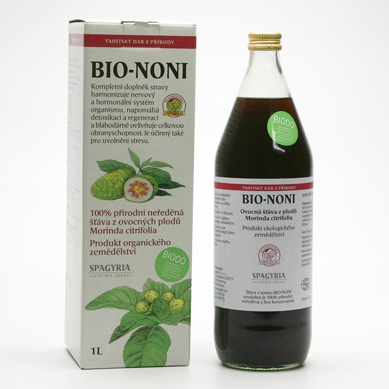 Spagyria Bio noni šťáva 1 l