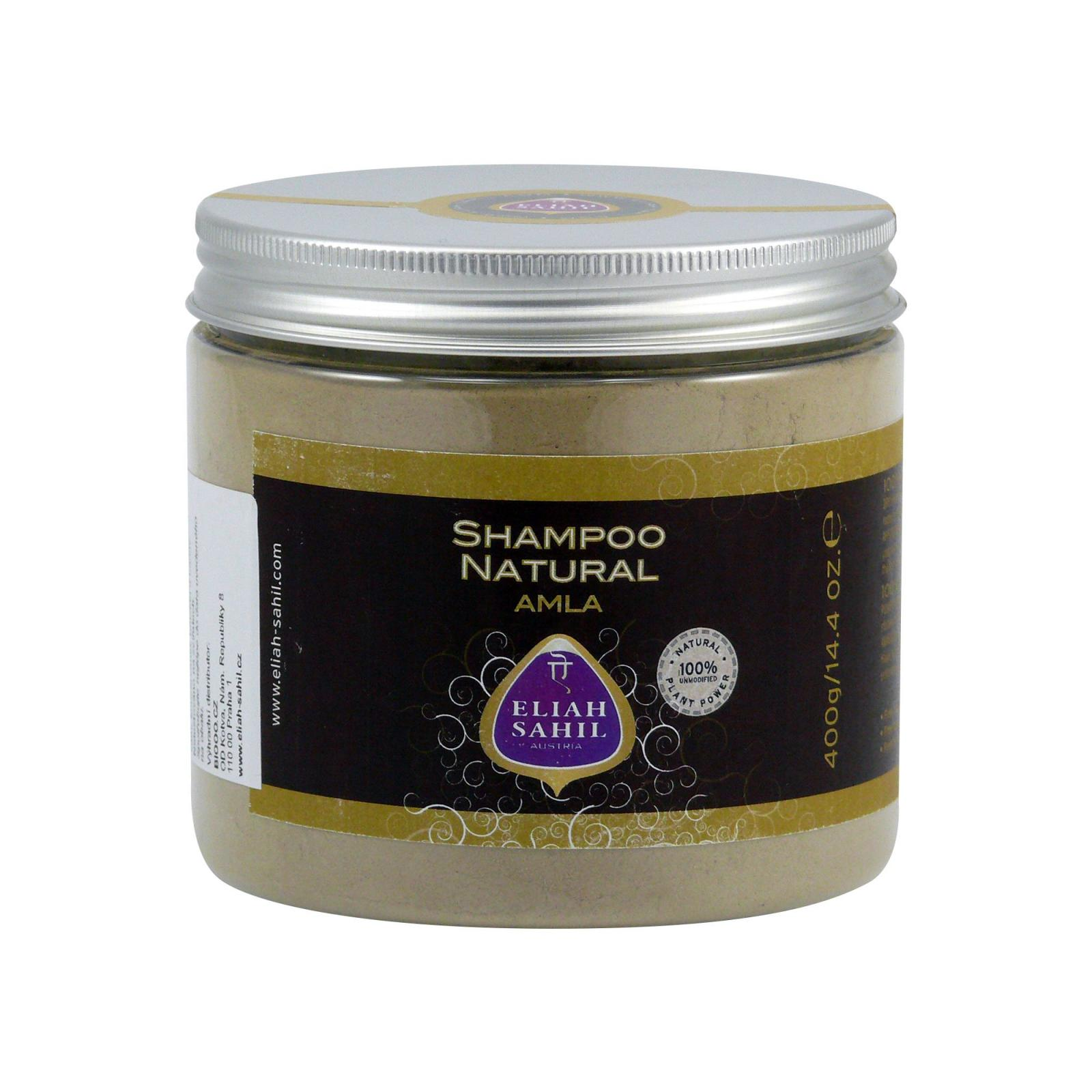 Eliah Sahil Ájurvédský práškový šampon 400 g