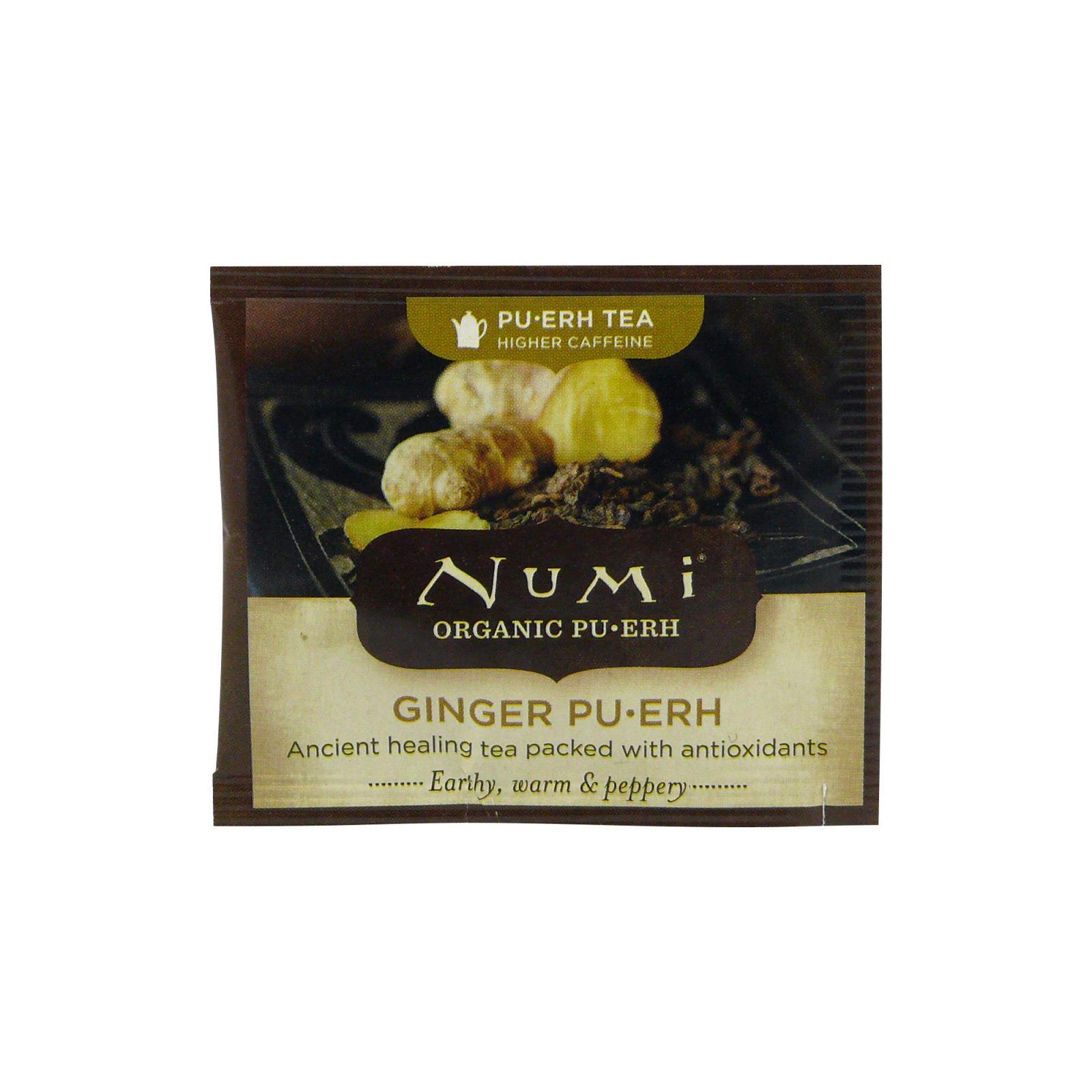 Numi Puerh Ginger Pu-erh 1 ks, 2,1 g