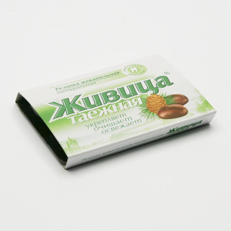ostatní Sibiřská žvýkací pryskyřice bez přísad 5 tablet, 4 g