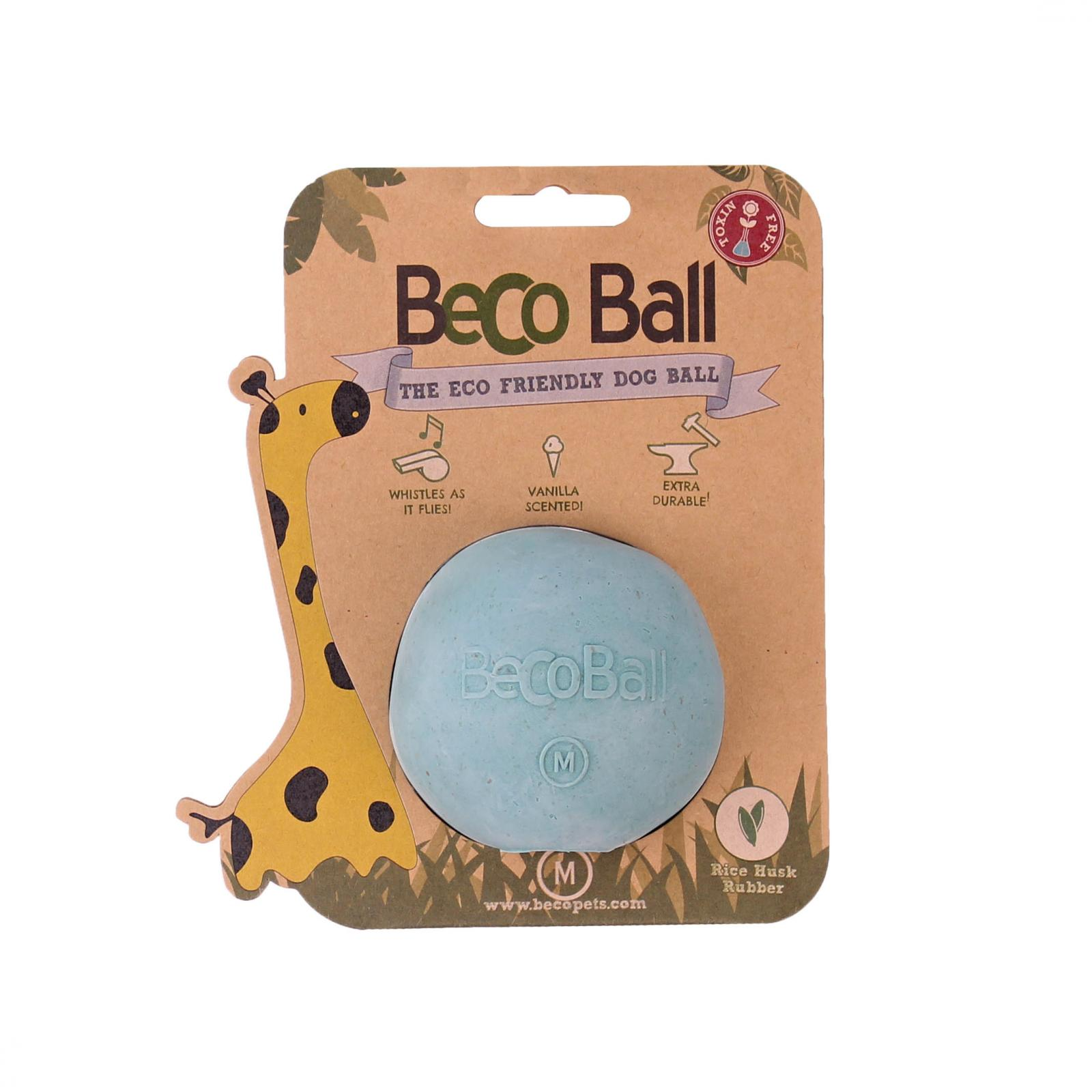 Beco Pets Beco Ball Medium 1 ks, modrá