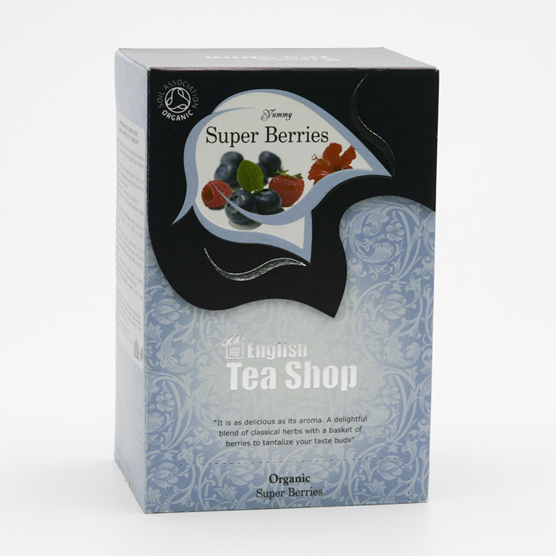 English Tea Shop x Čaj super ovocný 20 ks, 30 g