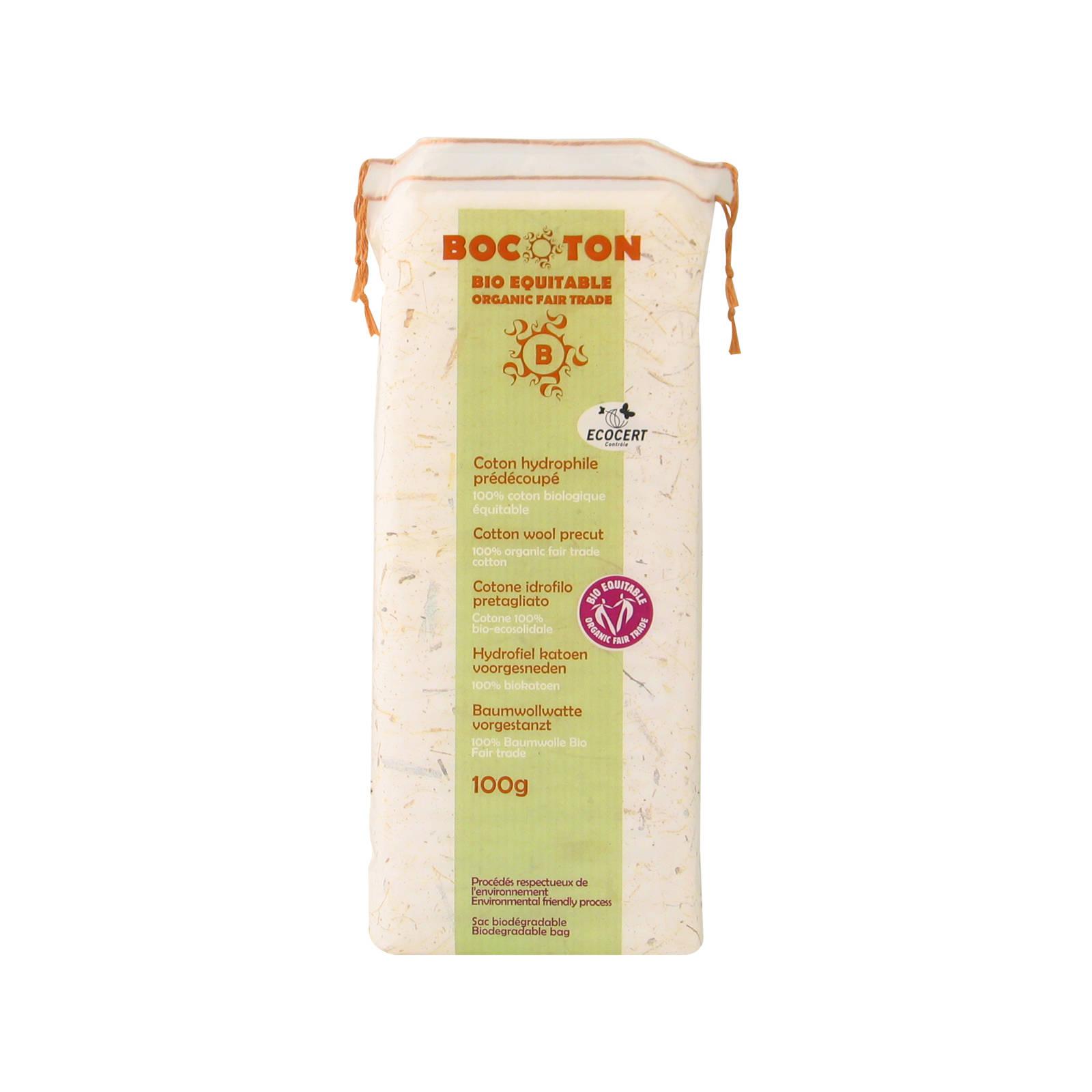 Bocoton Biovata skládaná, cotton wool precut 100 g
