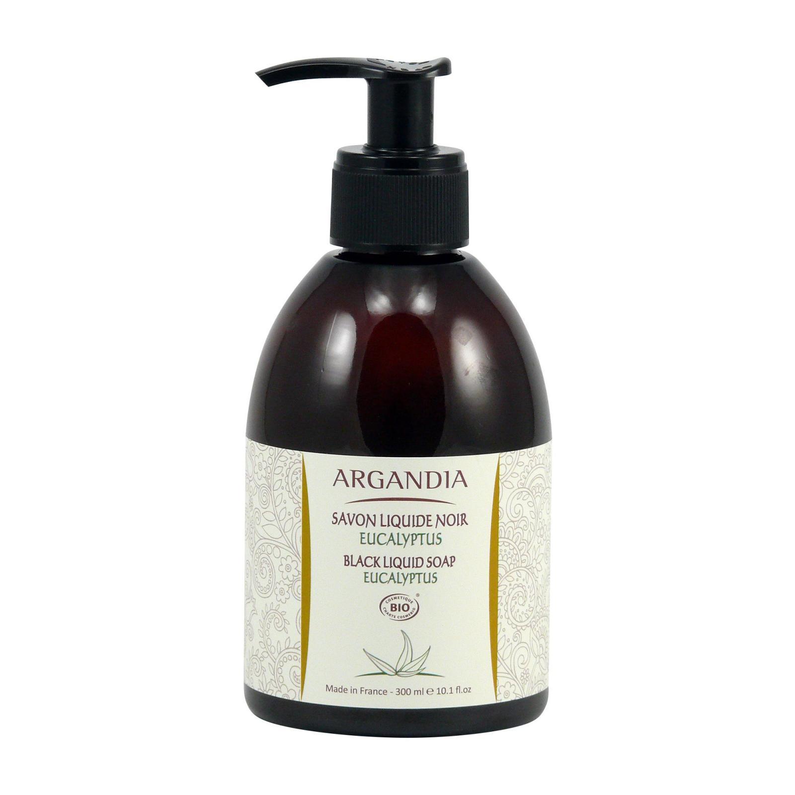 Argandia Černé tekuté mýdlo Eukalyptus 300 ml