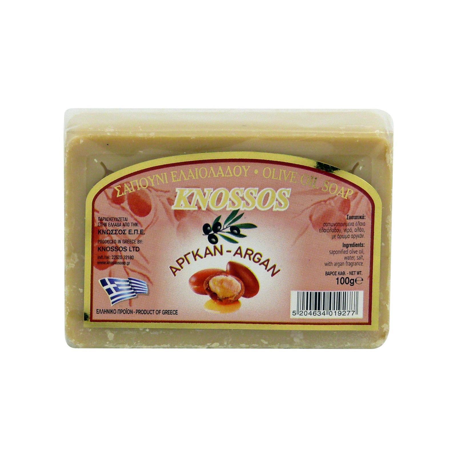 Knossos Mýdlo tuhé olivové, argan 100 g