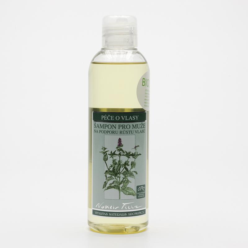 Nobilis Tilia x Šampon pro muže na podporu růstu vlasů  200 ml