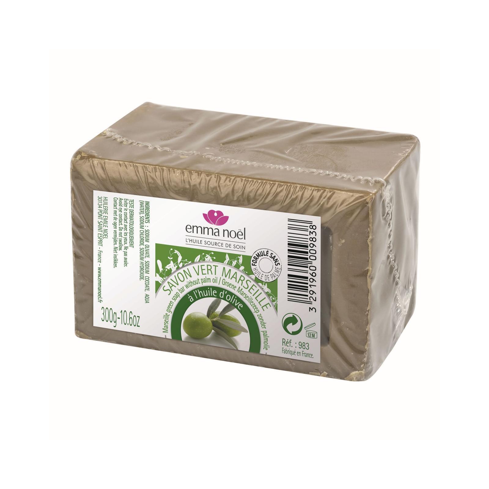 Emma Noel Mýdlo marseille, zelené 300 g
