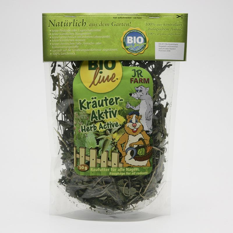 JR Farm Biopamlsky pro hlodavce, Herb Active 50 g