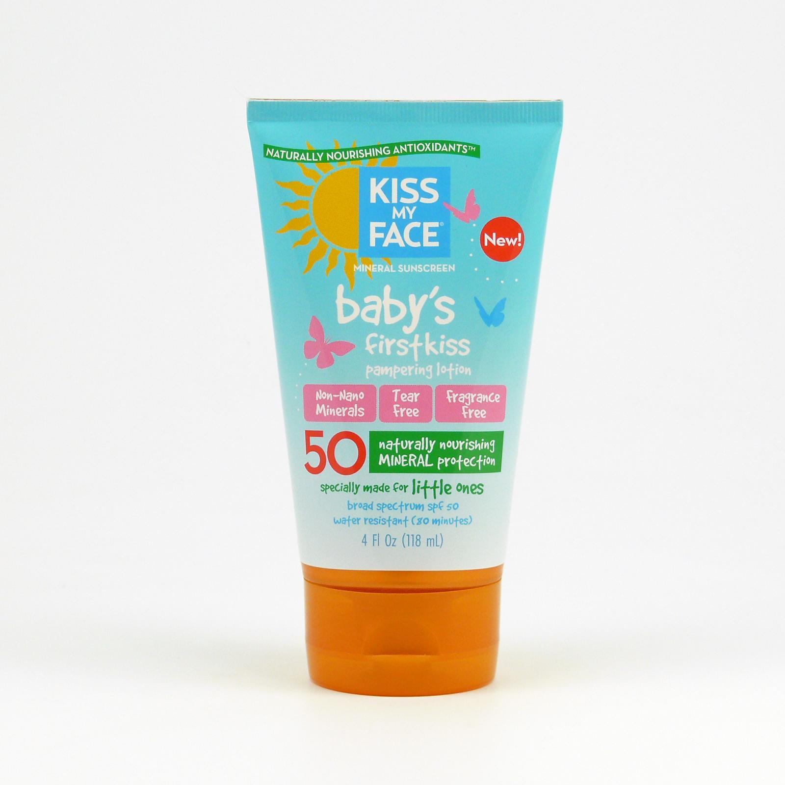 Kiss My Face Corp. Opalovací mléko SPF 50 pro nejmenší 118 ml