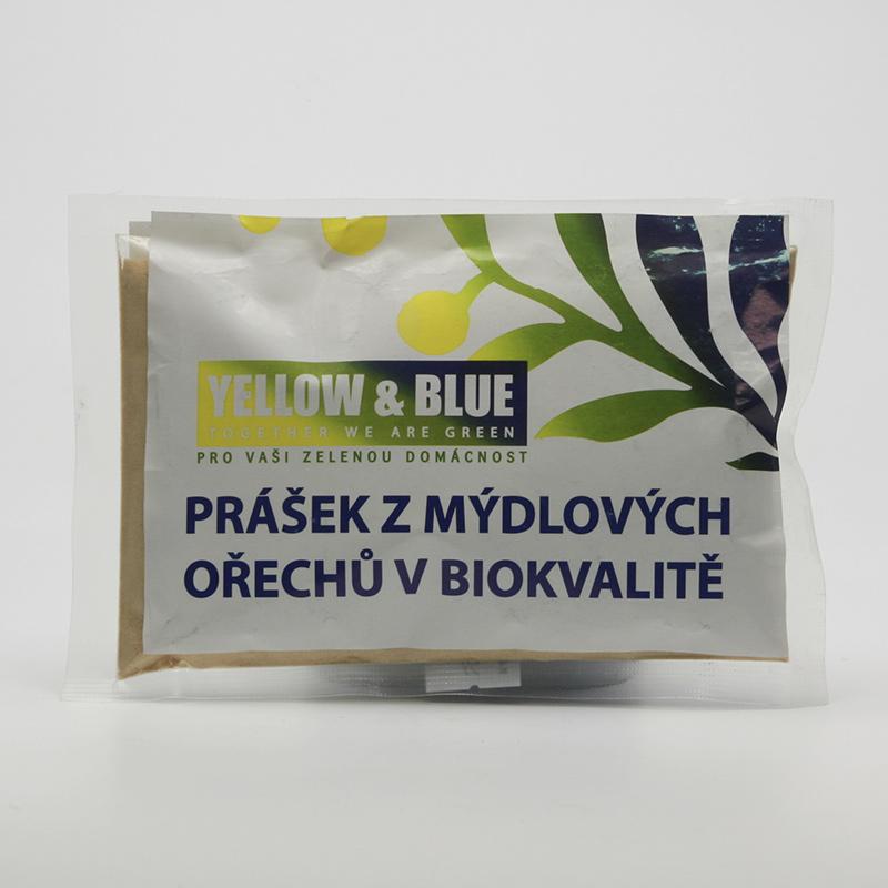 Yellow and Blue xxx Prášek z mýdlových ořechů, sáček 100 g