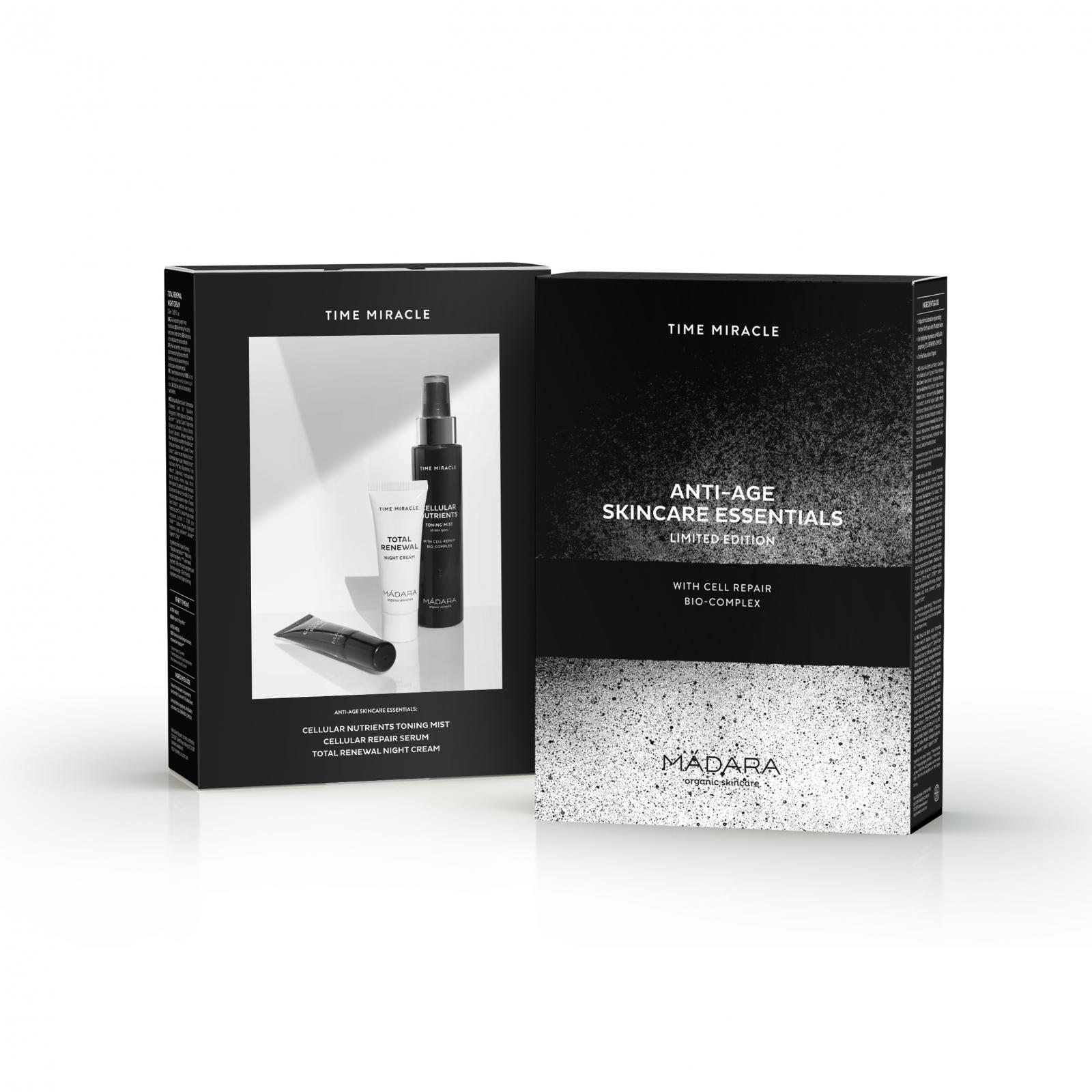 Mádara Sada Time Miracle, Starter Set 100 ml + 20 ml + 10 ml