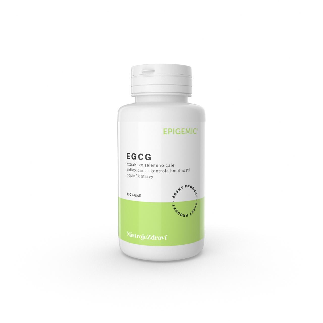 Epigemic EGCG - extrakt ze zeleného čaje, kapsle 51 g, 100 ks
