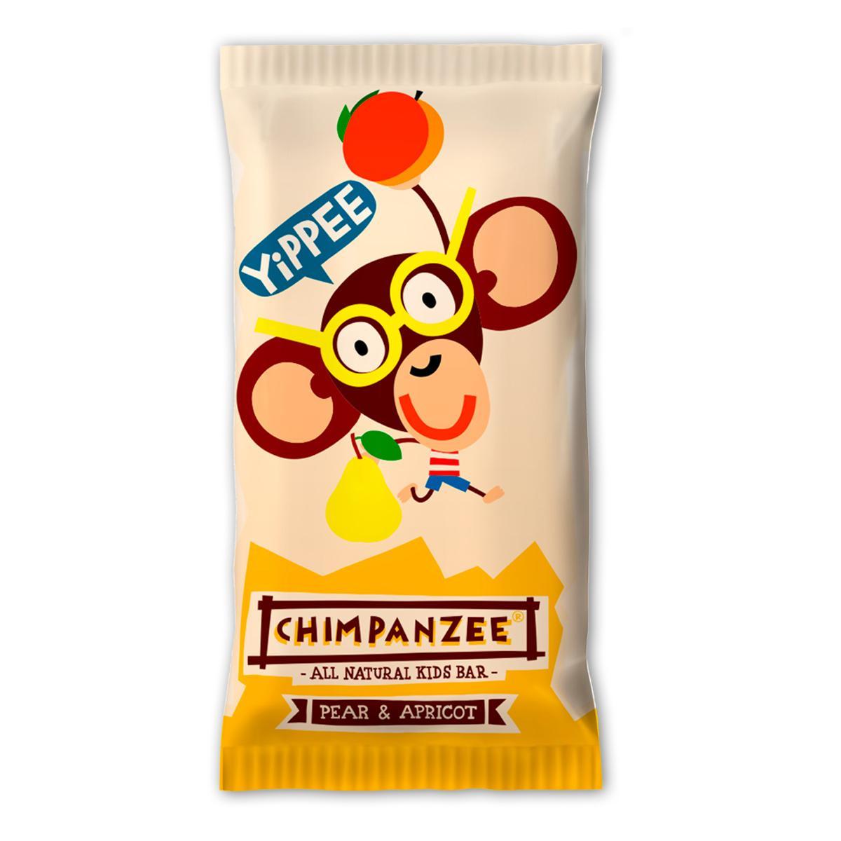 Chimpanzee Tyčinka Yippee Bar Pear - Apricot 35 g