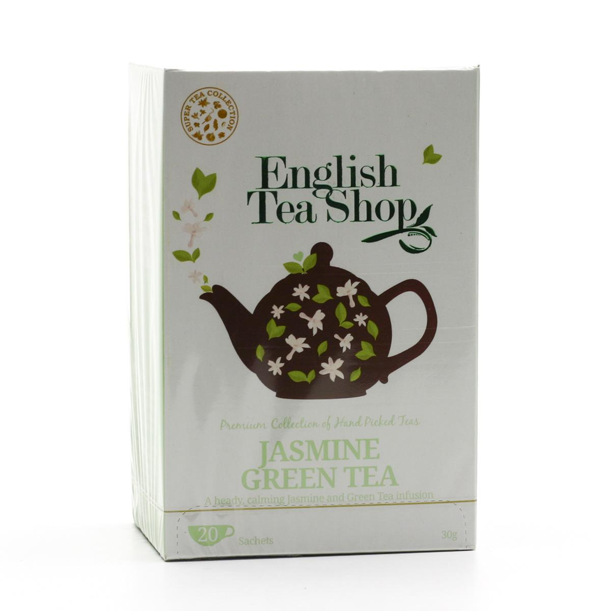 English Tea Shop Zelený čaj jasmínový 20 ks