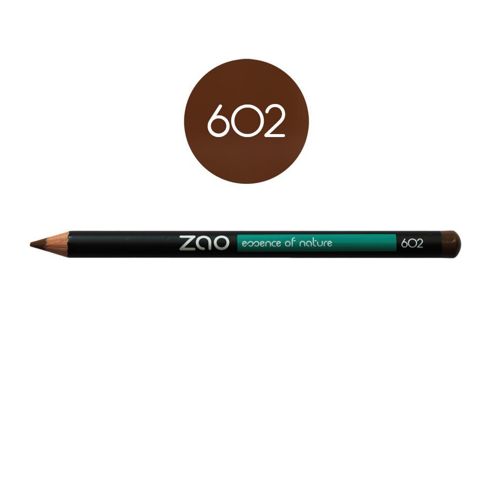 ZAO Tužka na oči a obočí 602 Dark Brown 1,17 g