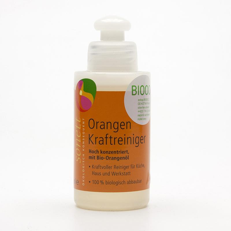 Sonett Koncentrovaný pomerančový čistič 120 ml