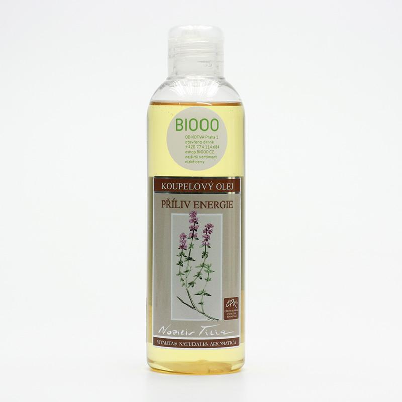 Nobilis Tilia Koupelový olej příliv energie - vyřaz 200 ml
