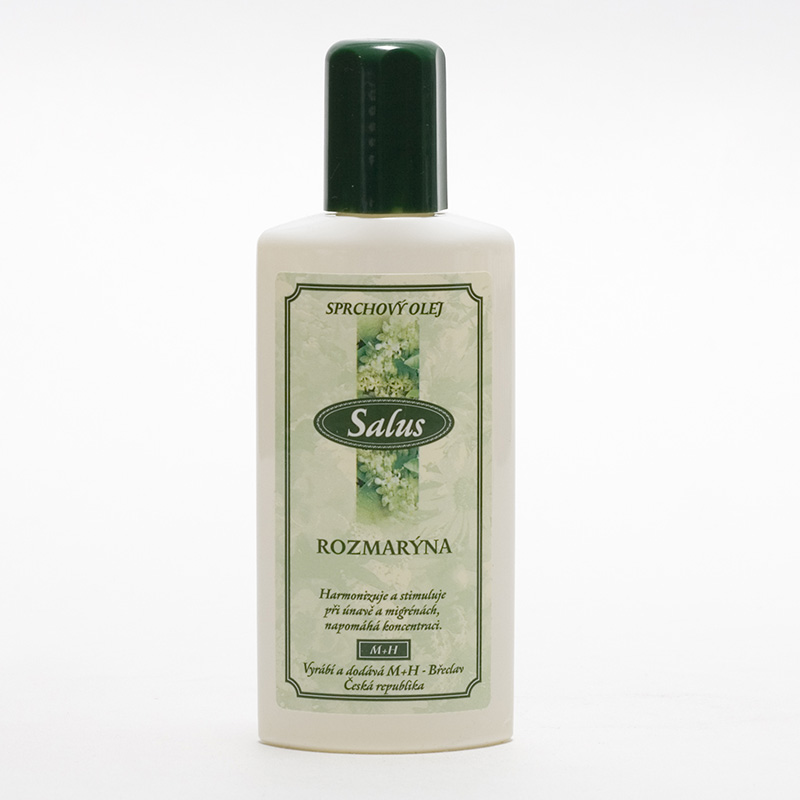Saloos x Sprchový olej rozmarýna 100 ml