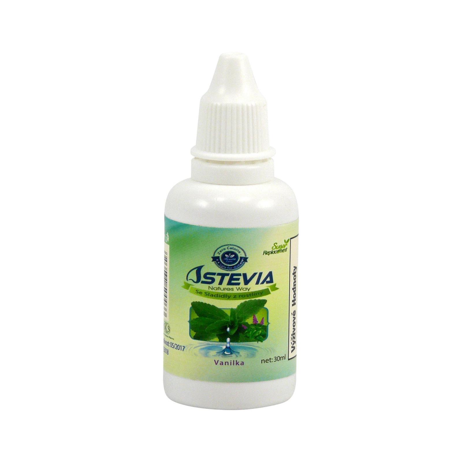 Stévík Stevia vanilková 30 ml