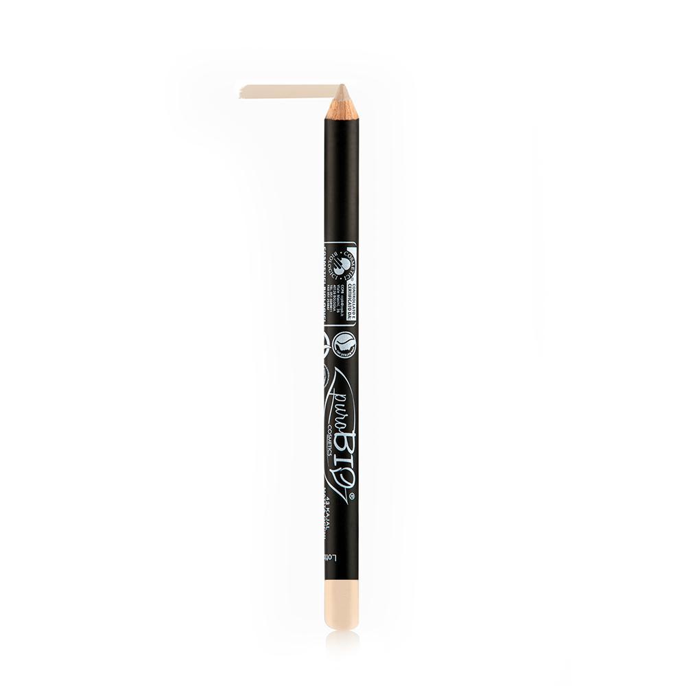 puroBIO cosmetics Tužka na oči 43 Nude 1,3 g