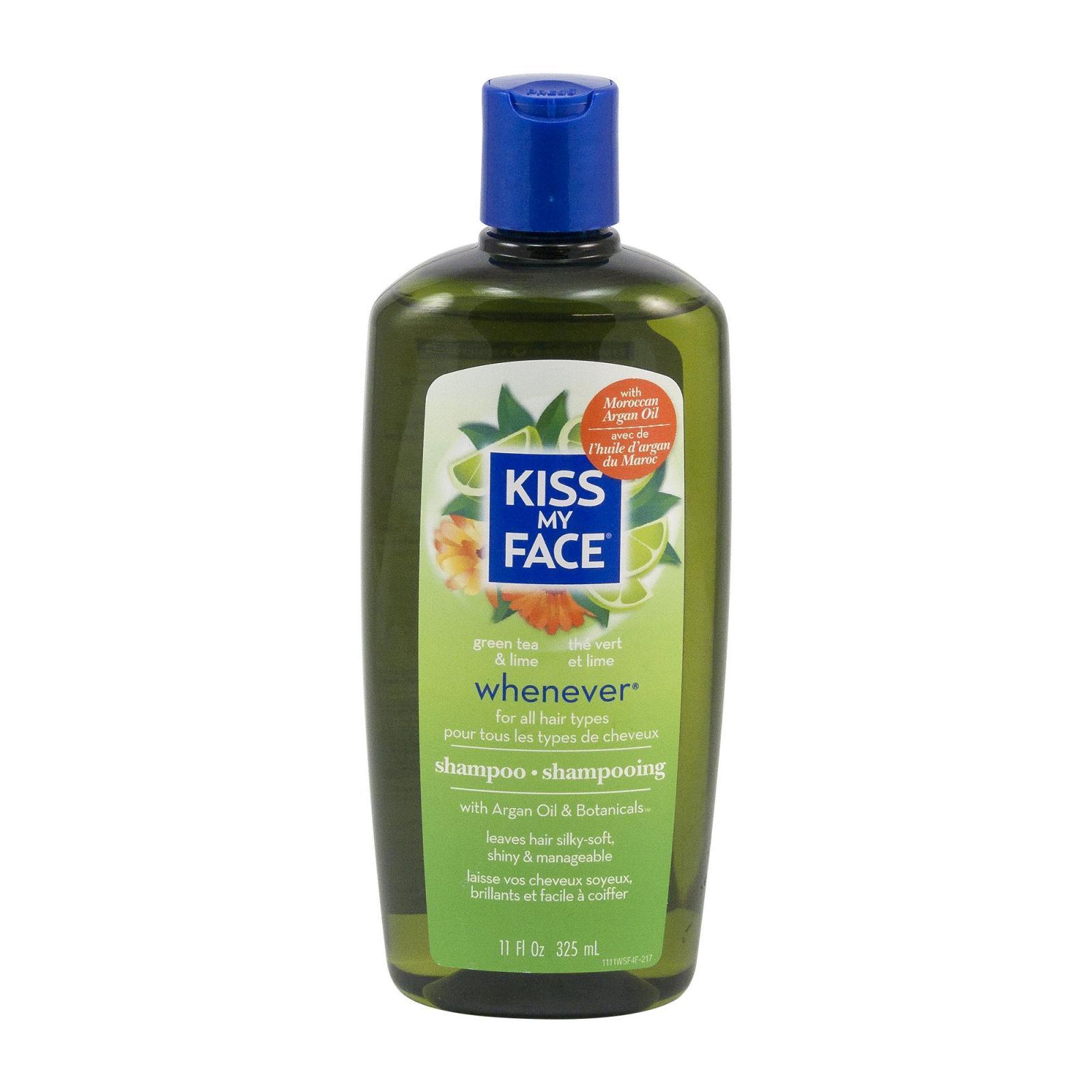 Kiss My Face Corp. Šampon Whenever, zelený čaj a citrus 325 ml