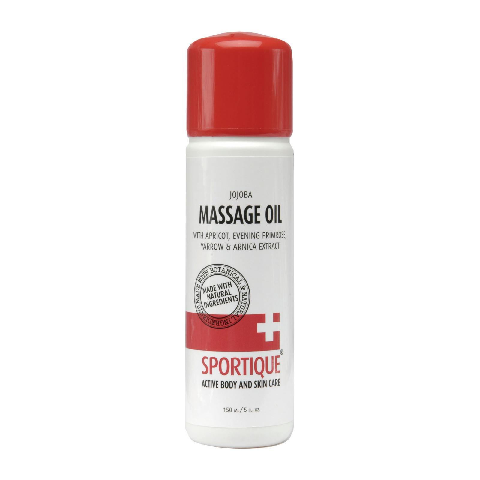 Sportique Masážní olej Meruňka 150 ml