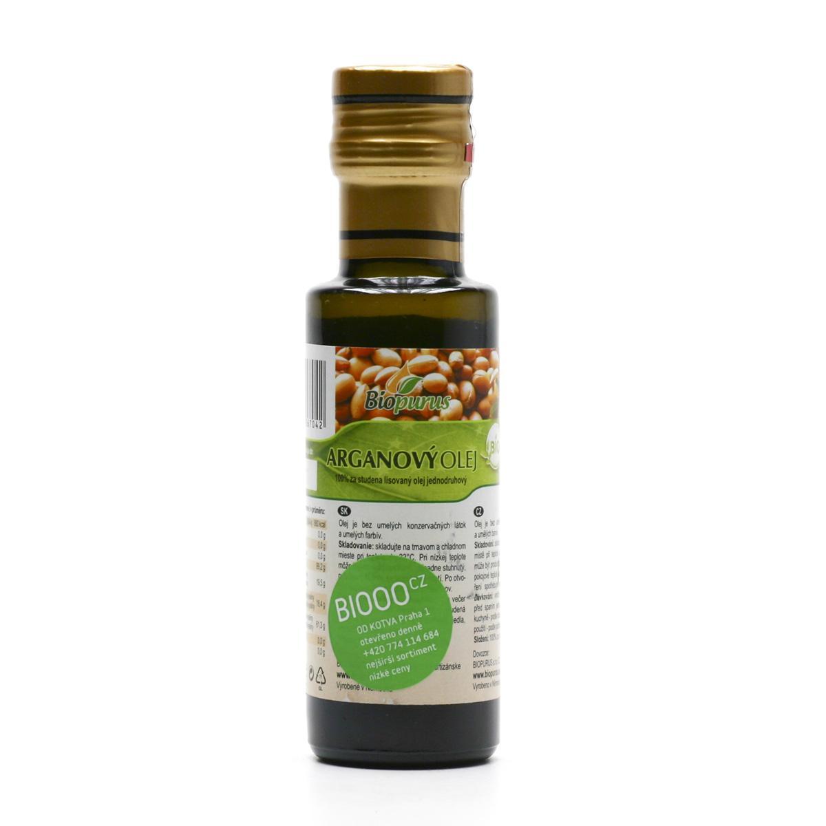 Biopurus Arganový olej bio 100 ml