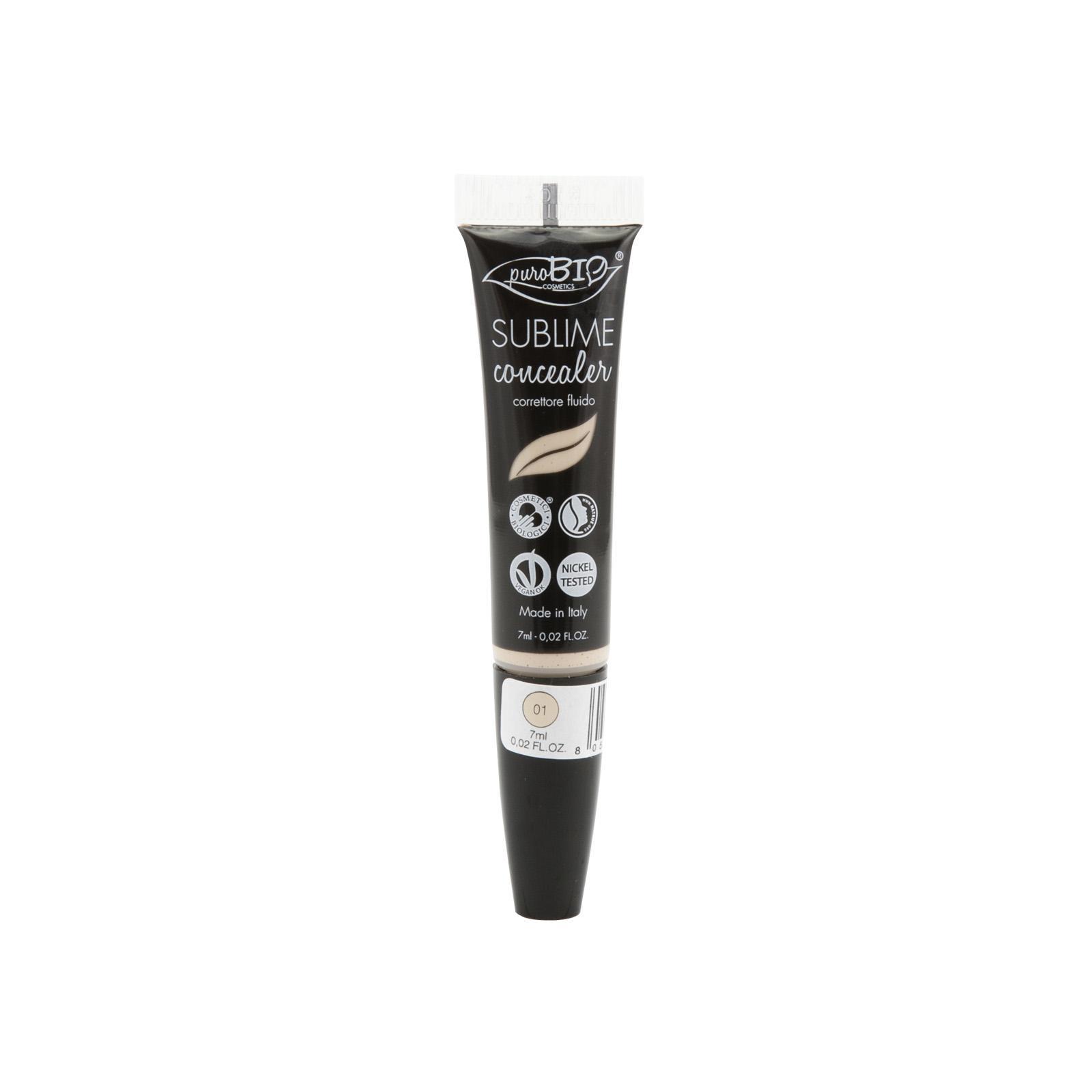 puroBIO cosmetics Korektor tekutý 01 7 ml
