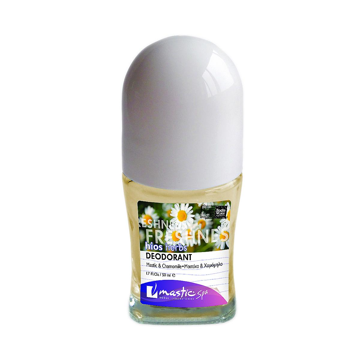 Mastic spa Deodorant Mastic and Chamomille, Herbs 50 ml