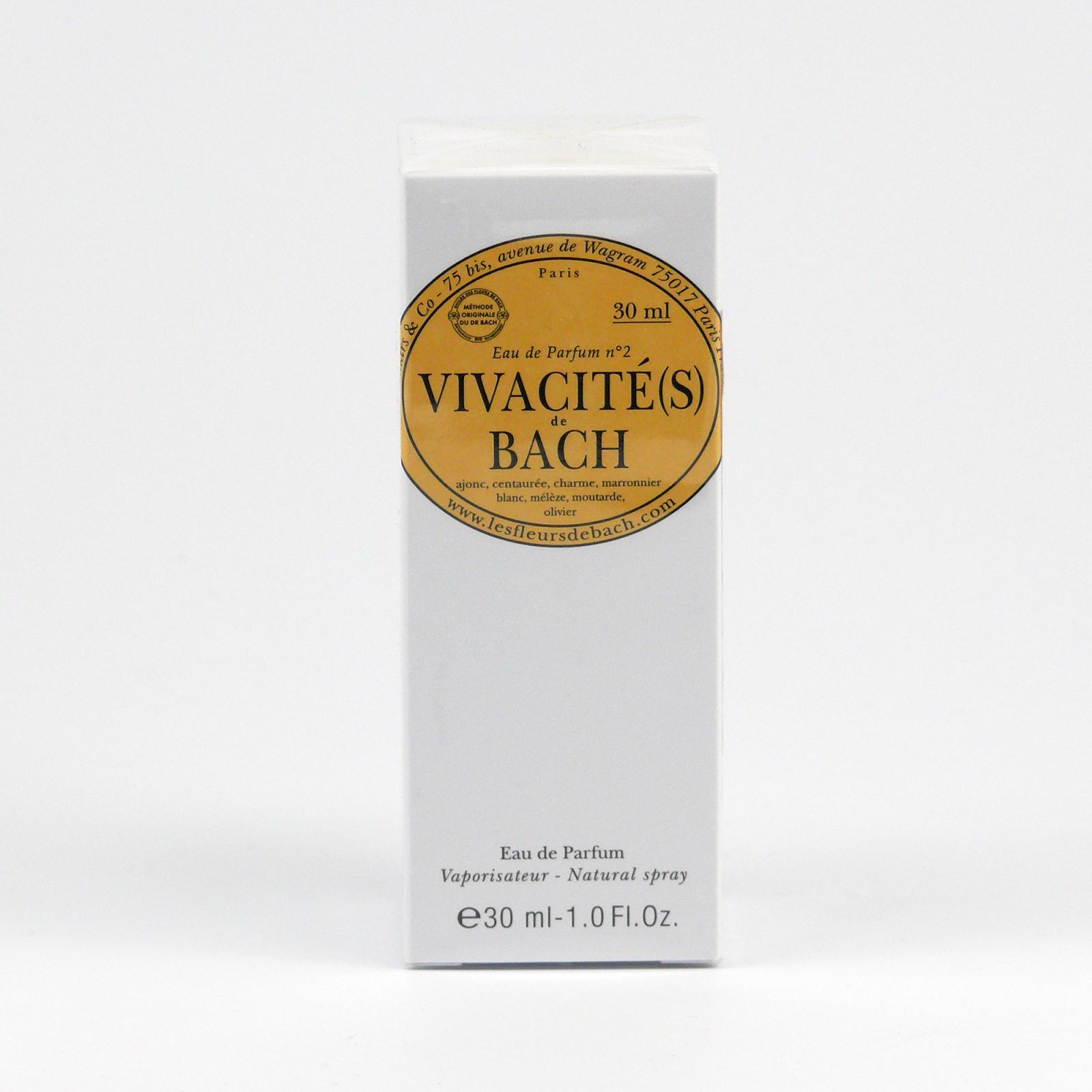 Les Fleurs de Bach Parfémová voda energetizující, Vivacités de Bach 30 ml