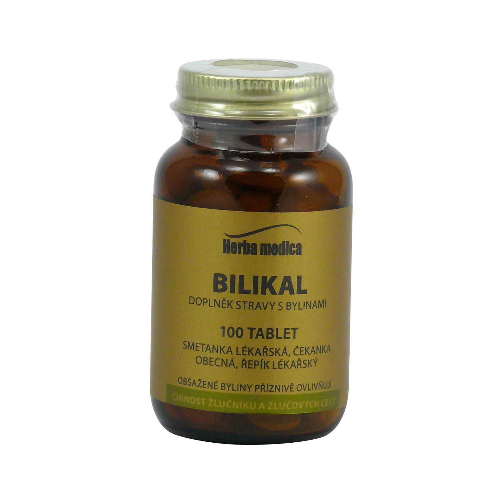 Herba Medica Bilikal 50 g,100 ks (tablet)
