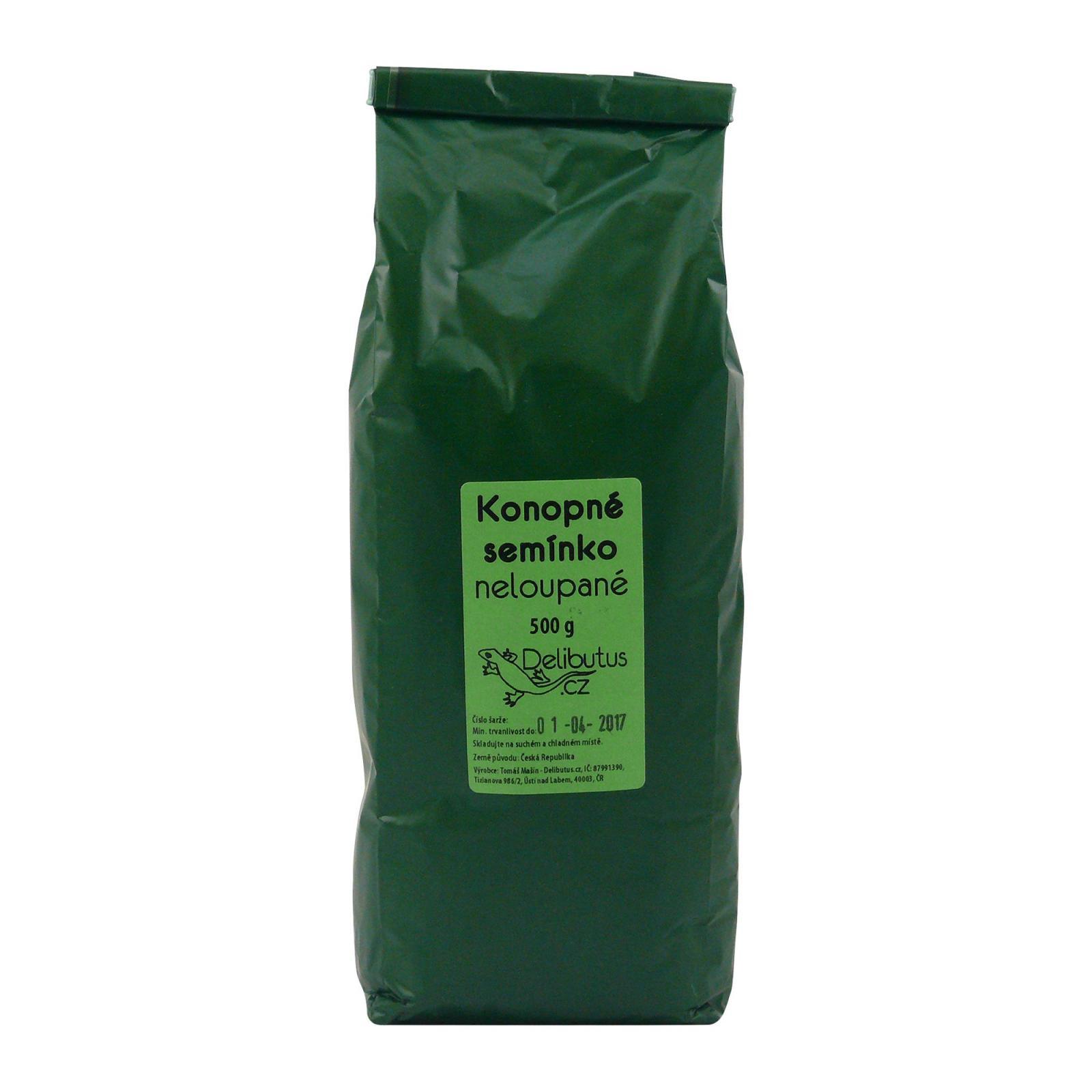 Delibutus Konopné semínko neloupané 500 g