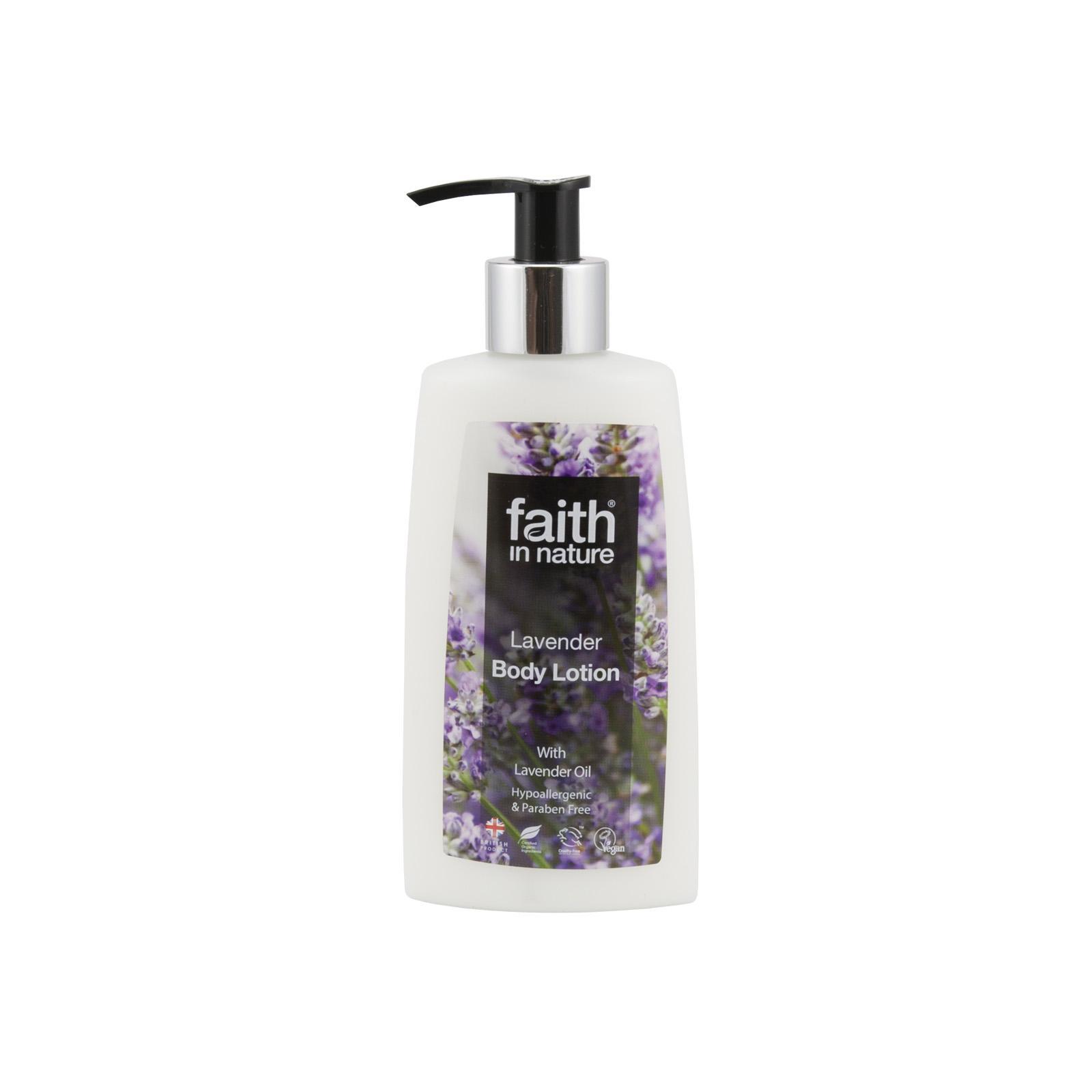 Faith in Nature Tělové mléko levandulové 150 ml