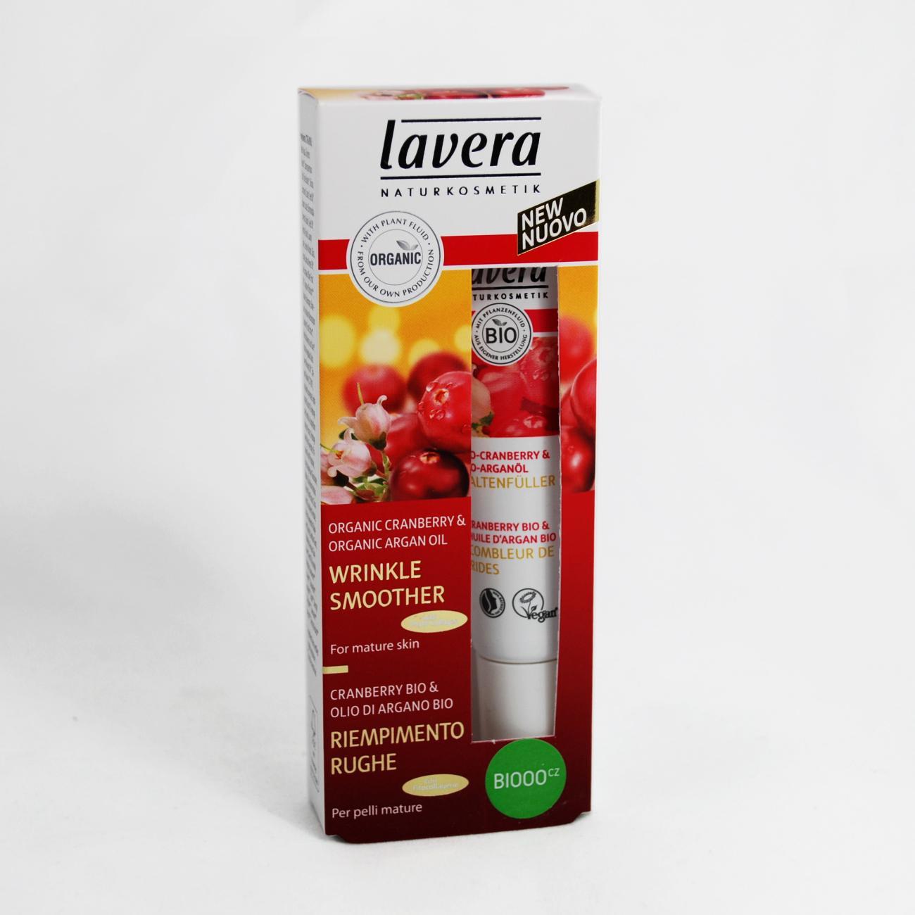 Lavera Sérum proti vráskám 45+ Bio Brusinka & Arganový olej, Faces 15 ml